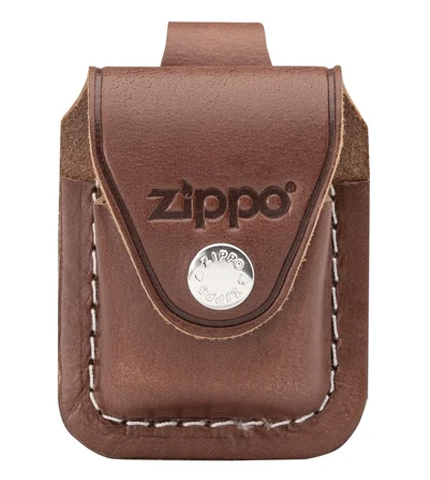 Zippo Brown Lighter Pouch With Loop