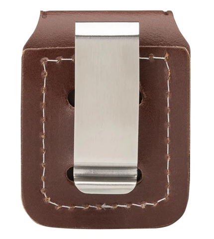 Zippo Brown Pouch With Clip Back
