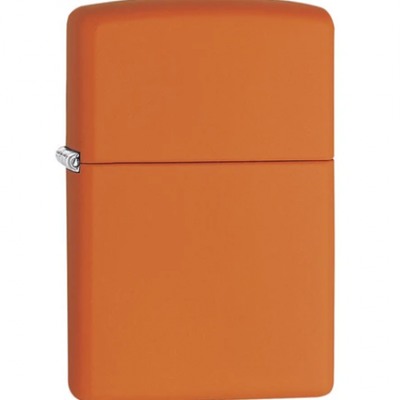 Orange Matte Zippo Lighter