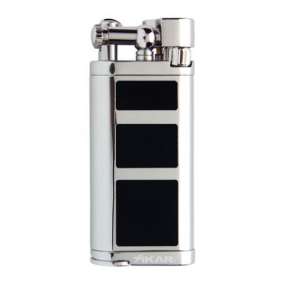Xikar Pipeline Flint Black Lighter