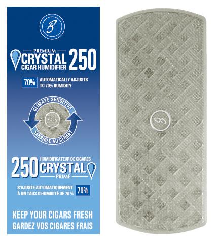 Premium Crystal Cigar Humidifier - 250