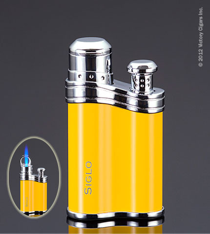 Bean Lighter - Cohiba Yellow