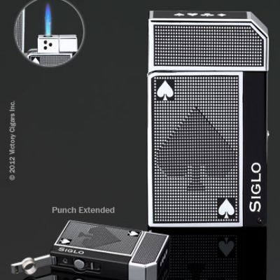 Siglo Spade Lighter - Chrome