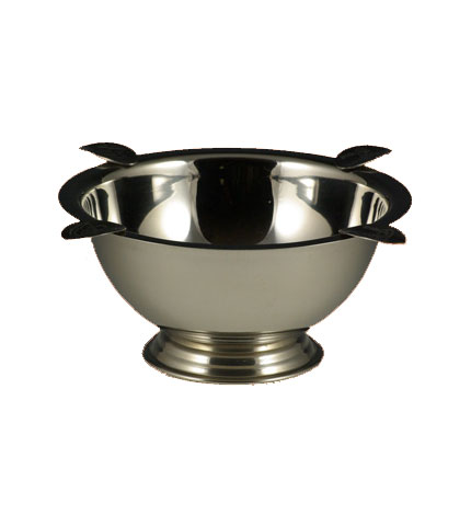 Tabletop Chrome Cigar Ashtray