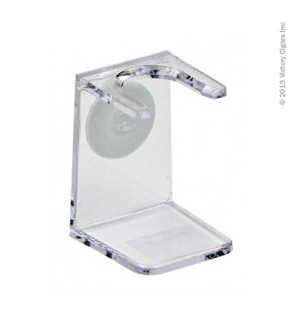 Acrylic Shaving Brush Stand - Clear
