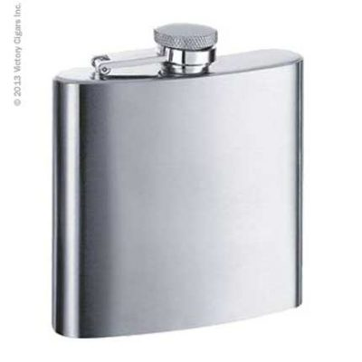Stainless Steel Hip Flask - 6oz.
