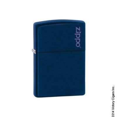 Royal Blue Matte w/ Zippo logo