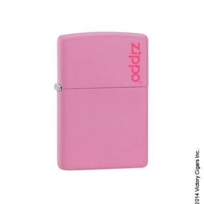 Pink Matte w/ Zippo logo