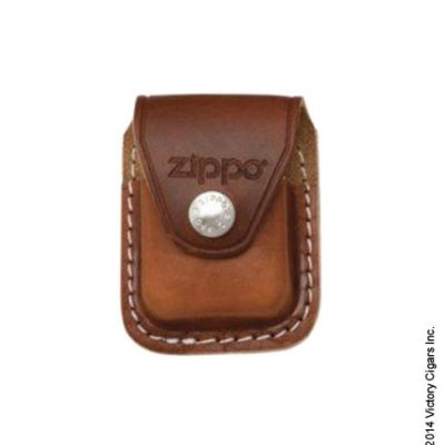 Lighter Pouch w/ Clip, Brown