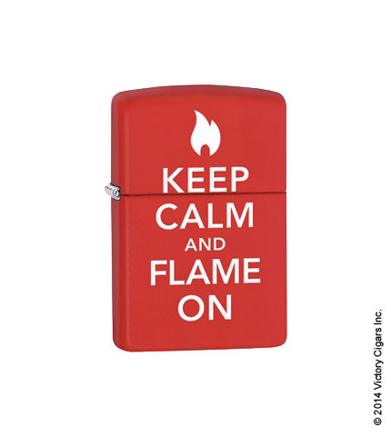 Keep Calm & Flame On 28671