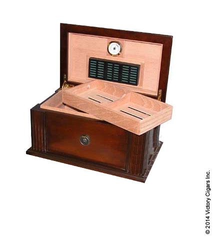 Amalfi Cigar Humidor - Open