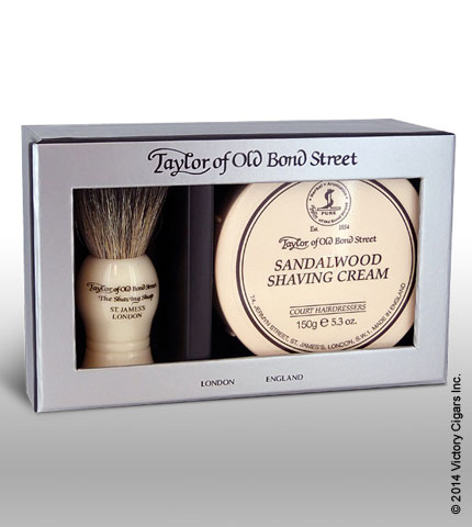 Pure Bager & Sandalwood Shave Cream Gift Box