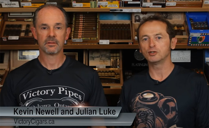 Canadian Cigar Scene | Kevin and Julian