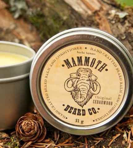 Beard Balm- Original Cedarwood by Mammoth