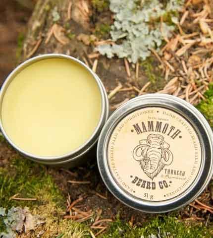 Beard Balm- Tobacco + Rosewood by Mammoth