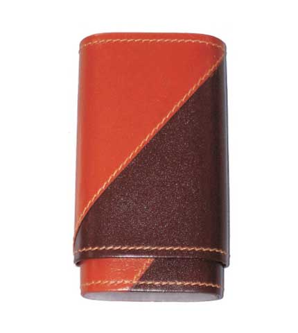 Two Tone Robusto Cigar Case