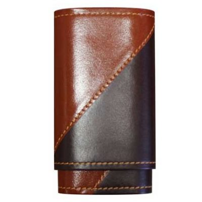 Robusto Two Tone Cigar Case
