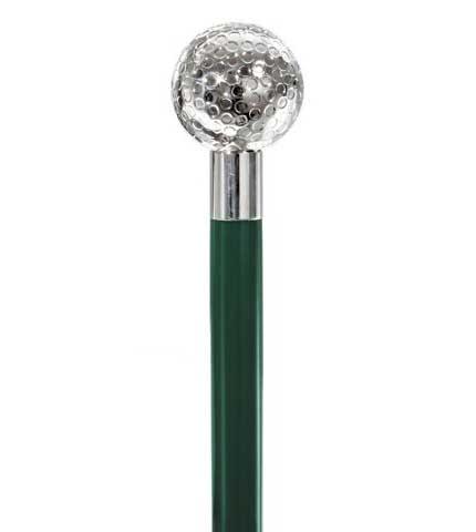 Silver Golf Ball Cane