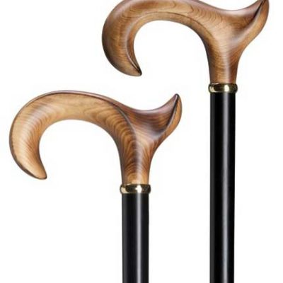 Scorched Maple Cane - Right