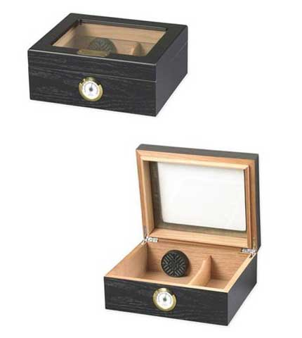 Black Oak Cigar Humidor