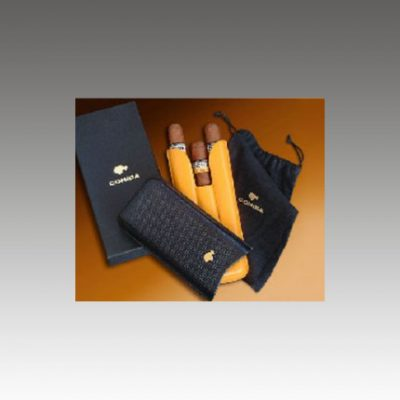 Cohiba Leather Cigar Case - 3 Adjustable