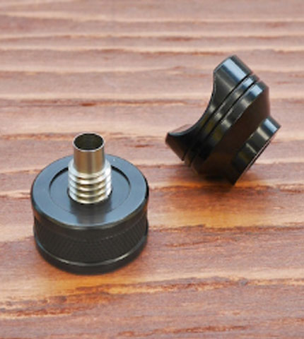 Cigar Punch With Rest - Black