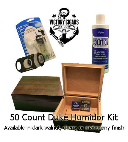 Duke Deluxe Cigar Humidor Kit