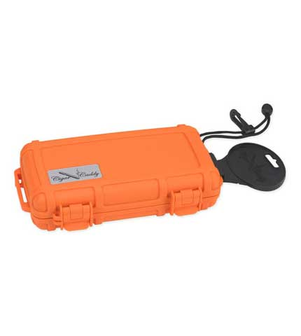 Cigar Caddy Travel Orange