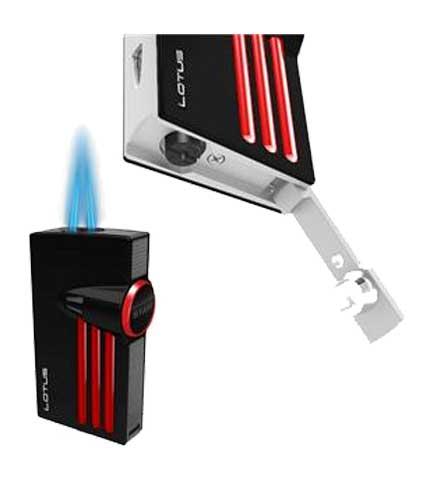 Orion Cigar Lighter - Charcoal Open