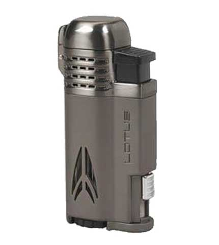 Defiant Cigar Lighter - Gunmetal & Satin