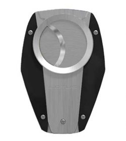 Fury Cigar Cutter - Black/Chrome
