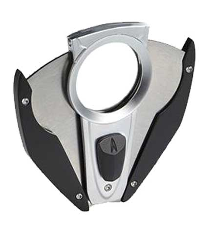 Fury Cigar Cutter - Black/Chrome Open