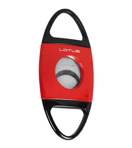 Jaws Cigar Cutter - Black/Red
