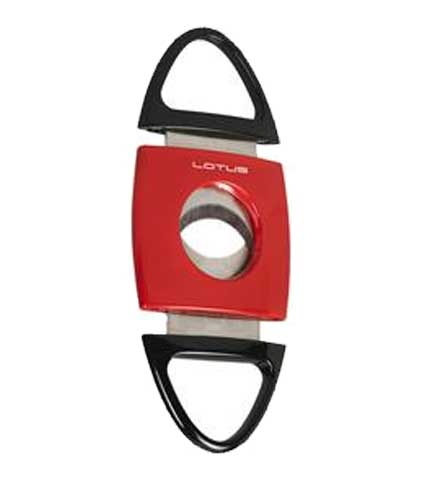Jaws Cigar Cutter - Black/Red 2