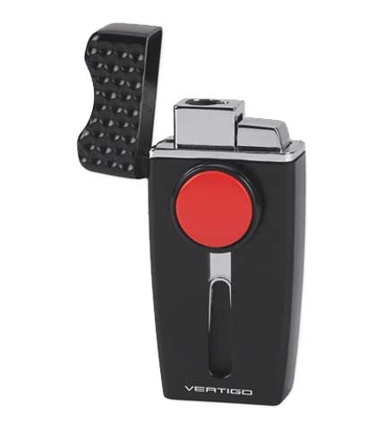 Vertigo Tee Time Cigar Lighter - Black Open