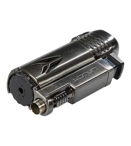 Defiant Cigar Lighter - Gunmetal & Satin - Punch