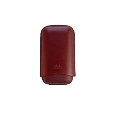 Three Finger Corona Cigar Case Burgundy