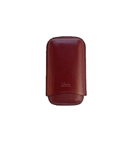 Three Finger Corona Cigar Case Burgundy