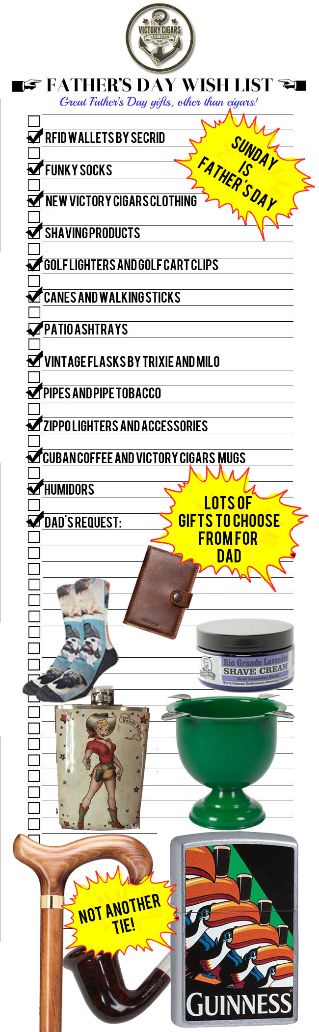 Fathers Day Wish List