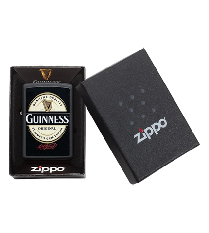Guinness Zippo Lighter with Case