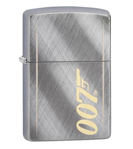 James Bond 007 Brush Weave Gun Zippo Lighter