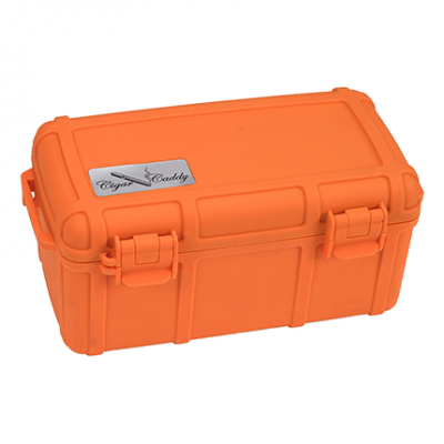 Cigar Caddy Fifteen Count Orange